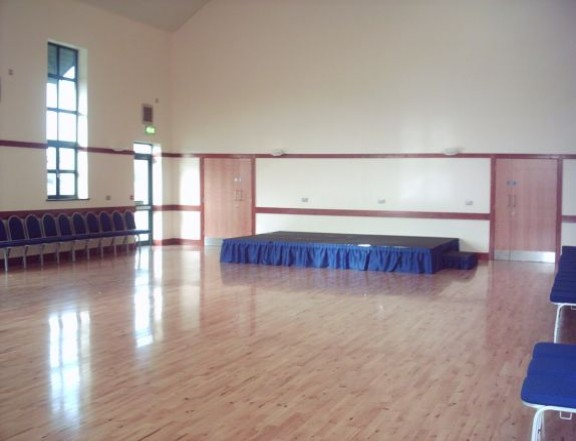 Main Hall with stage